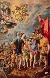 «Мученичество святого Маврикия» (1580—1581, Монастырь Сан Лоренцо, Музей Эскориал)