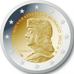 2 евро, Монако, 2012