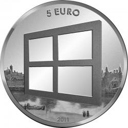 5 евро, Нидерланды, 2011 (Живопись Нидерландов)