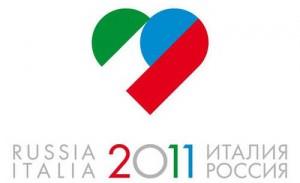 Логотип российско-итальянского года культуры