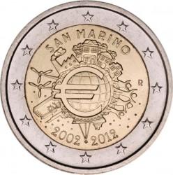 2 евро, Сан-Марино, 2012