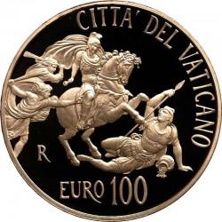 100 евро, Ватикан (Станца д'Элиодоро)