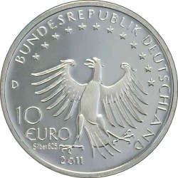 10 euro, Germany, 2011. Till Eulenspiegel