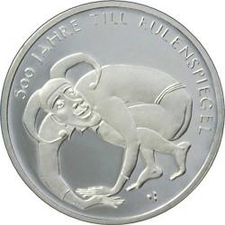 10 euro, Germany, 2011. Till Eulenspiegel