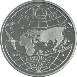 10 euro, Amerigo Vespucci