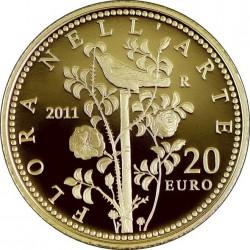 flora nell'arte, 2011, 20 euro
