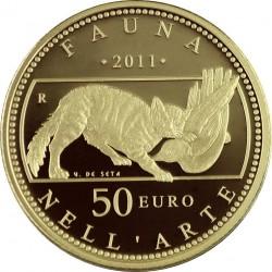 fauna nell'arte, 2011, 50 euro