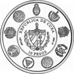 Cuba 2010, 10 peso.Iberoamericana