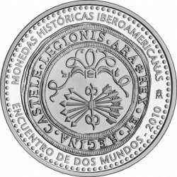 Испания 2011, 10 евро, Древние монеты, Ибероамериканская серия