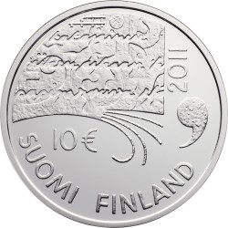 Finland, 10 euro, 2011, Juhani Aho