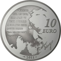 10 euro, France, Cosette