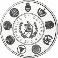 Гватемала 2010, 1 кетцаль, Древние монеты, Ибероамериканская серия