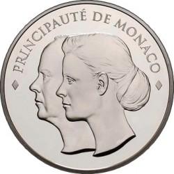 10 euro, Monaco, 2011. Albert and Charlene