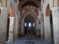 Interieur cathedrale Santa-Maria d'Anagni