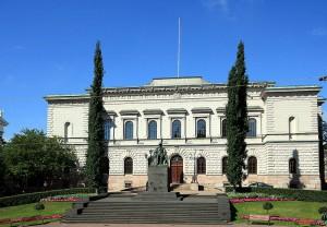 Штаб-квартира Банка Финляндии в Хельсинки (здание 1882 года постройки)