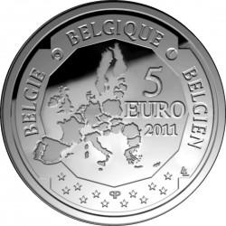 5 евро, Бельгия (Элен Дютриё - первая бельгийская женщина-пилот)