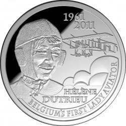 5 euro, Hélène Dutrieu. Belgique
