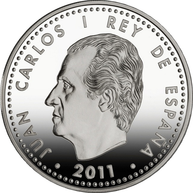 10 euro 2011 джуан карлос квотеры сша 25 центов