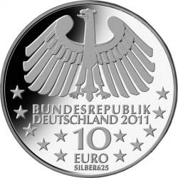 10-Euro-Gedenkmünze. 100 Jahre Hamburger Elbtunnel