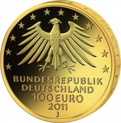 100 евро, Германия (Замок Вартбург)
