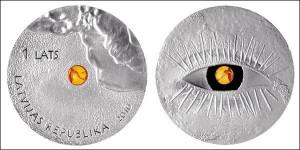 «Янтарная монета» Латвии