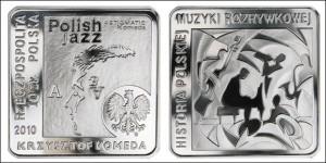 Польские 10 злотых, получившие Специальный приз конкурса «Монетное созвездие-2011»