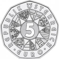 Österreich 2012. 5 euro. Schladming 2013