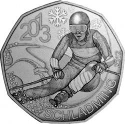 5 евро «Чемпионат мира по горнолыжному спорту 2013 г.»