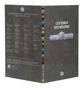 На обратной стороне альбома имеется список всех достопримечательностей, изображённых на монетах