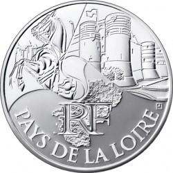10 евро. Регионы Франции - Памятники. Земли Луары