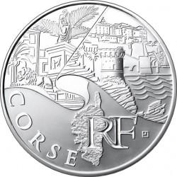 10 евро. Регионы Франции - Памятники. Корсика