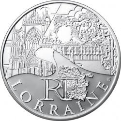10 евро. Регионы Франции - Памятники. Лотарингия
