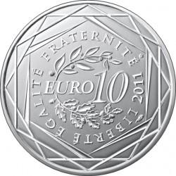 10 евро. Регионы Франции - Памятники.
