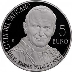 5 евро, Ватикан (Беатификации Папы Римского Иоанна Павла II)