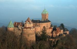 Замок Верхний Кёнигсбург (фр. Château du Haut-Kœnigsbourg)