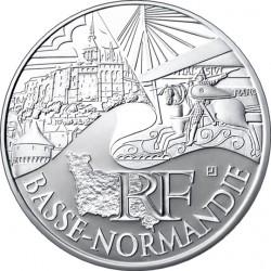 Франция, 10 евро (Нижняя Нормандия)
