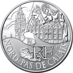 Франция, 10 евро (Нор — Па-де-Кале)