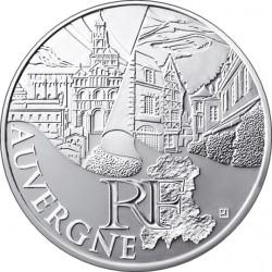 Франция, 10 евро (Овернь)