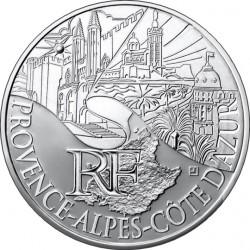 Франция, 10 евро (Прованс - Альпы - Лазурный берег)