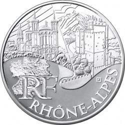 Франция, 10 евро (Рона — Альпы)