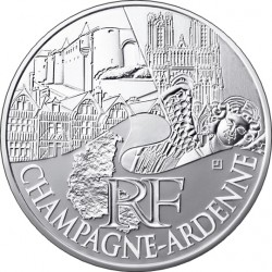 Франция, 10 евро (Шампань — Арденны)