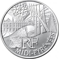 Франция, 10 евро (Юг — Пиренеи)