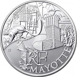 Франция, 10 евро (Майотта)