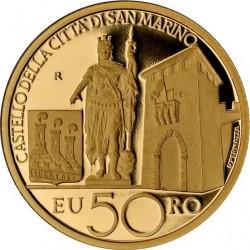 "Сан-Марино, 2011 (""Сокровища Сан-Марино""), 50 евро"