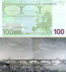 Купюра в 100 евро