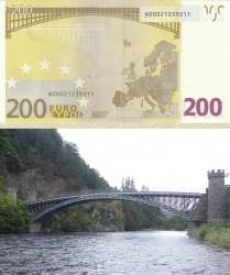 Купюра в 200 евро
