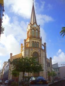 Кафедральный католический собор Святого Людовика (Cathédrale Saint-Louis de Fort de France)