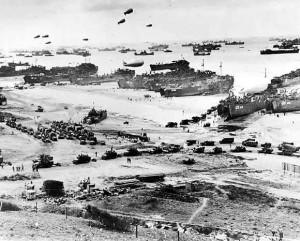 6 июня 1944 года: разворачивание войск идёт полным ходом