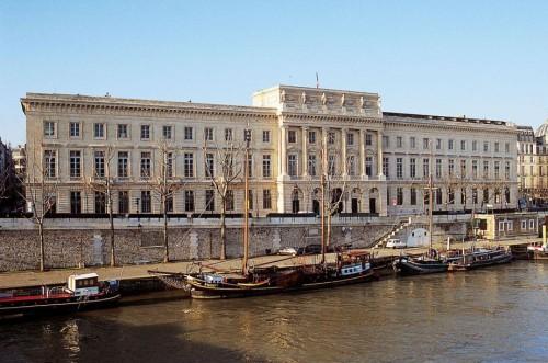 Фасад Парижского монетного двора