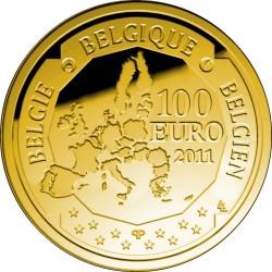 Бельгия, 100 евро (150 лет со дня рождения Виктора Орта)